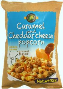 キャラメル&チェダーチーズポップコーン93g(写真)